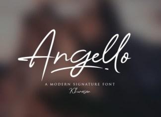 Angello Font