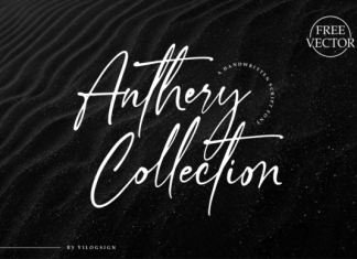 Anthery Collection Font