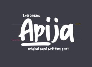 Apija Font