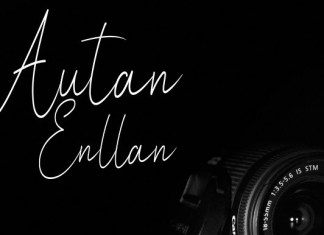 Autan Enllan Font