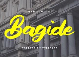 Bagide Font