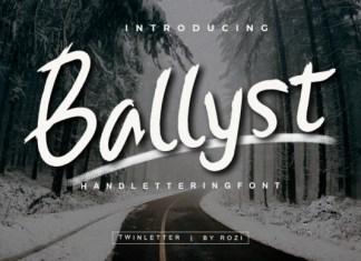 Ballist Font
