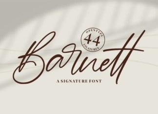 Barnett Font