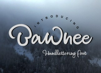 Bawnee Font