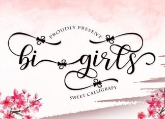 Bi Girls Font