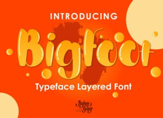 Bigfoot Font
