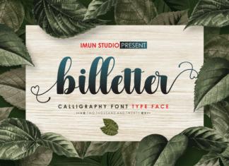 Billetter Font