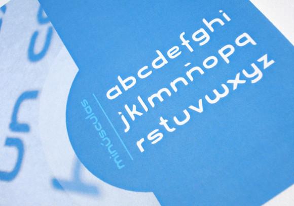 Blue Font