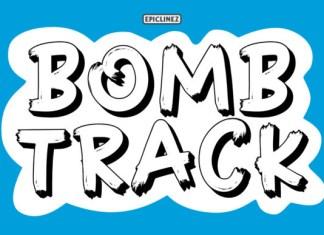 Bomb Track Font