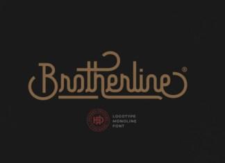 Brotherline Font