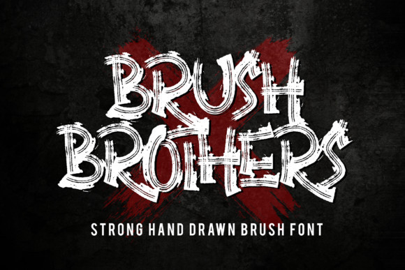 Brush Brothers Font
