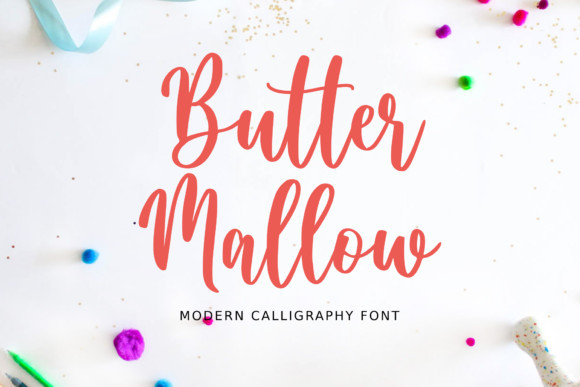 Butter Mallow Font