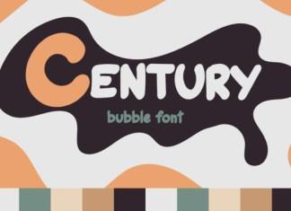 Century Bubble Font