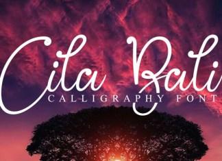 Cila Bali Font