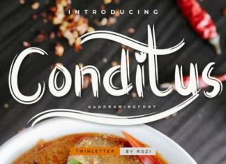 Conditus Font