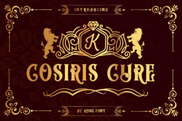 Cosiris Cure Font