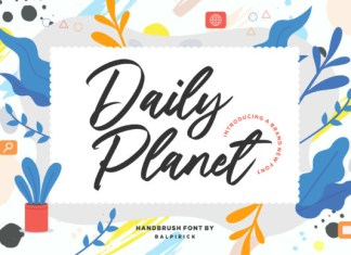 Daily Planet Font