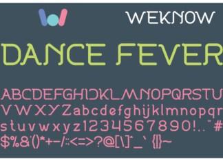 Dance Fever Font