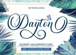 Dayton Font