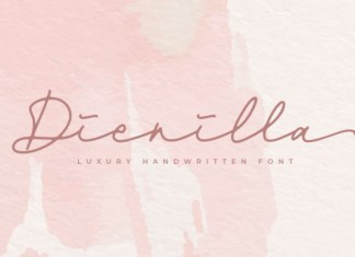 Dienilla Font