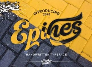 Epines Font