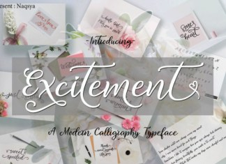 Excitement Font