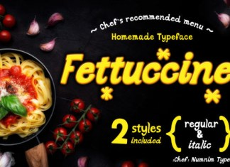 Fettuccine Font