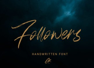 Followers Font