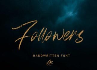 Followers Font
