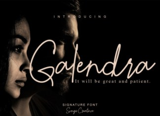 Galendra Font