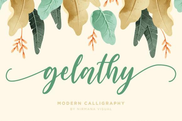 Gelathy Font
