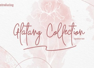 Glatang Collection Font