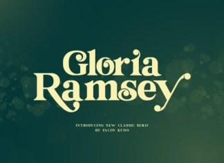 Gloria Ramsey Font