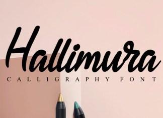 Hallimura Font