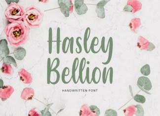 Hasley Bellion Font