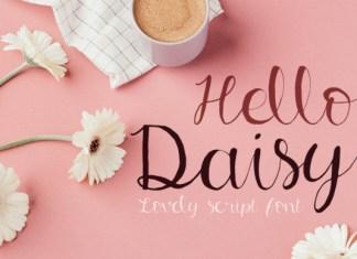 Hello Daisy Font
