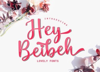 Hey Beibeh Font