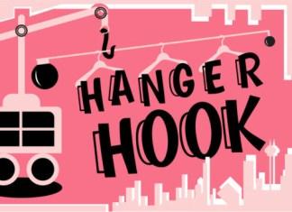 Hook Hanger Font