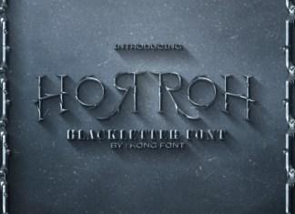 Horroh Font