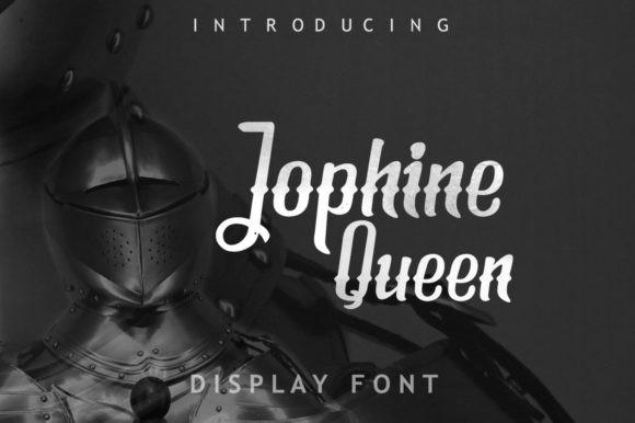 Jophine Queen Font