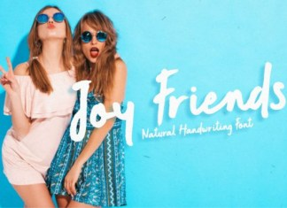 Joy Friends Font