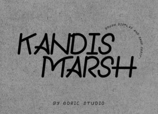Kandis Marsh Font