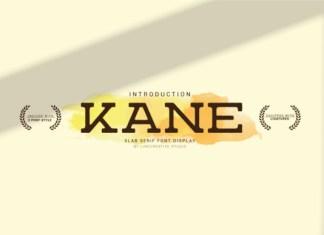 Kane Font