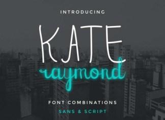 Kate Raymond Font