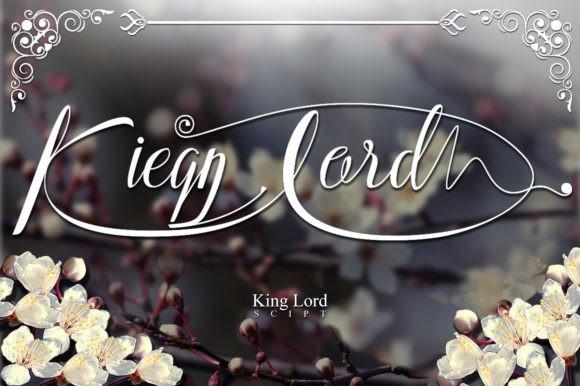Kieng Lord Font