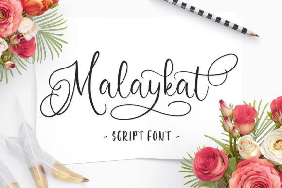 Malaykat Font