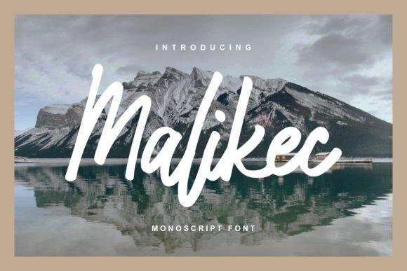 Malikec Font