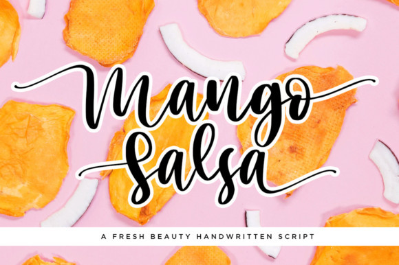 Mango Salsa Font