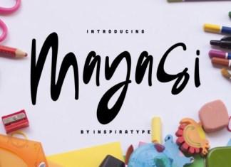 Mayasi Font