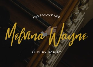 Melvina Wayne Font